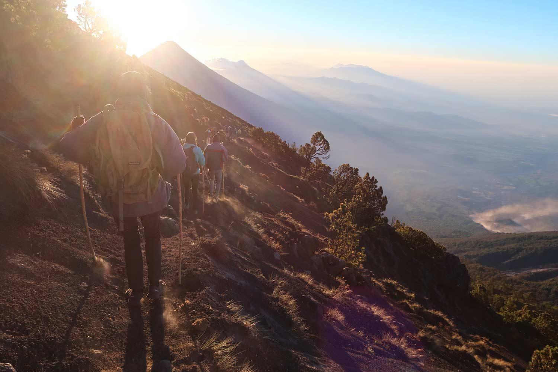 3976 Höhenmeter - Acatenango Vulkan Tour in Guatemala