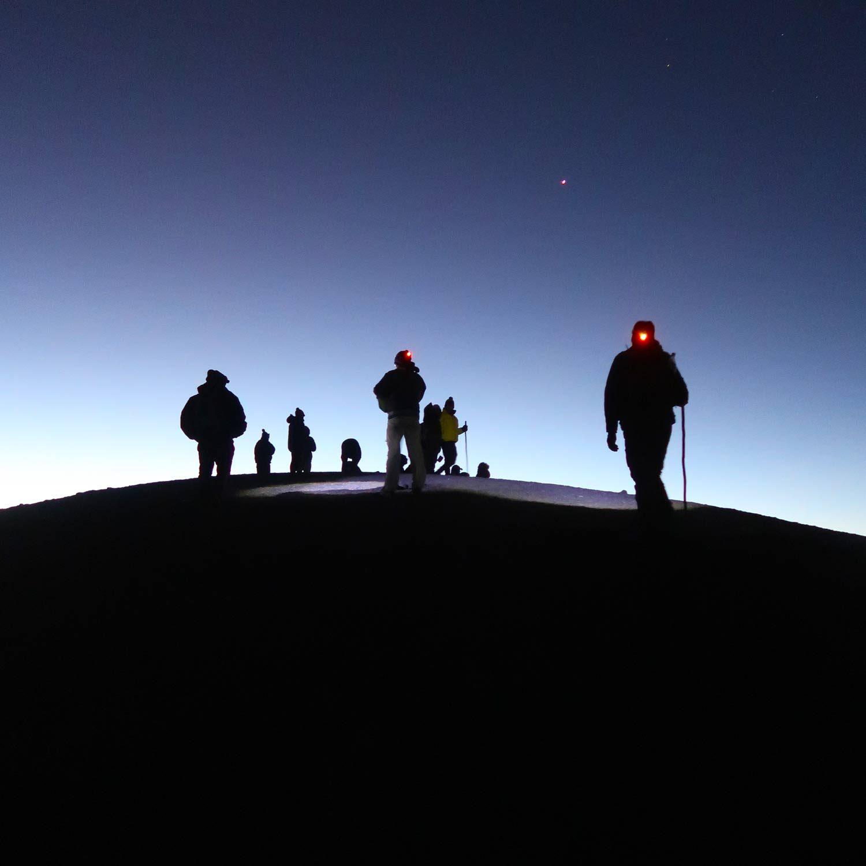 3976 Höhenmeter - Acatenango Vulkan Tour in Guatemala - Summit