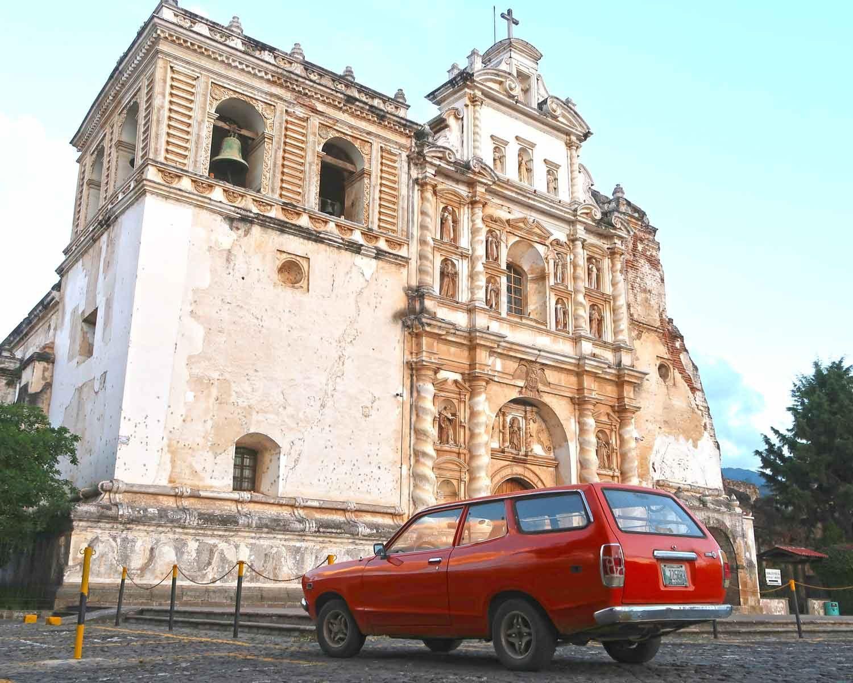 Antigua Sehenswürdigkeiten - 10 Dinge, die du machen solltest - Kirchen San Francisco El Grande