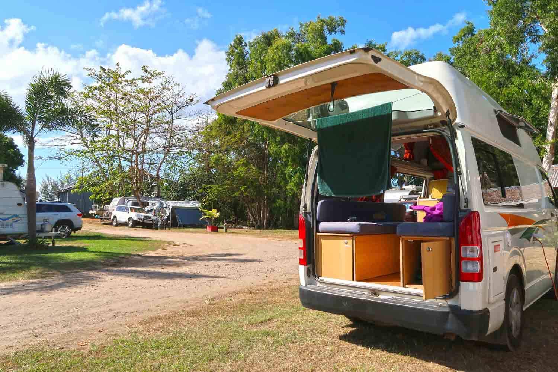 Caravan Parks bieten mehr Komfort, als herkömmliche Rest Areas in Australien