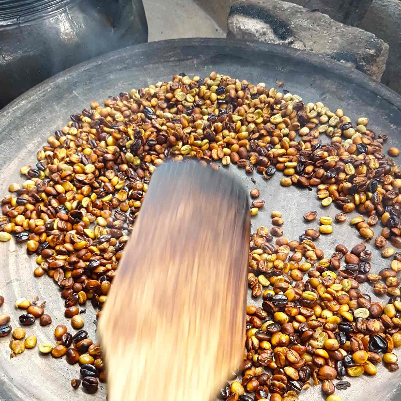 Antigua Kaffee Tour | Röste deinen guatemaltekischen Kaffee - Rösten