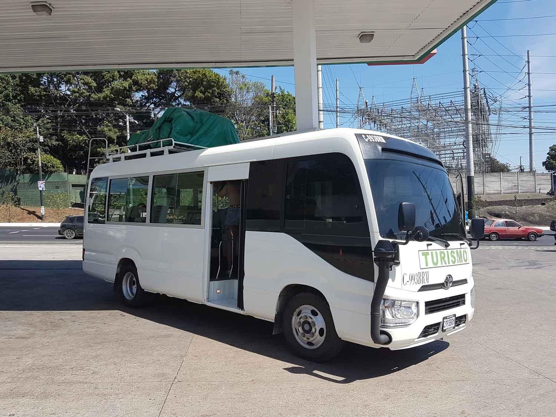 Shuttlebus in Guatemala