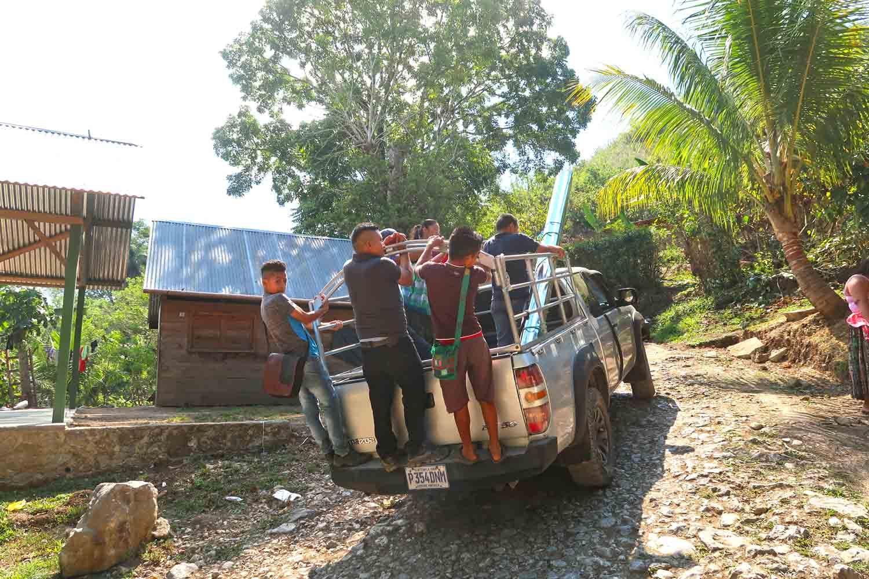 Der Jeep nach Semuc Champey in Guatemala