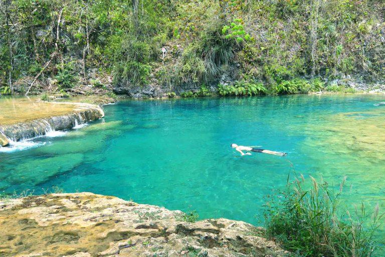Die Pools von Semuc Champey in Guatemala