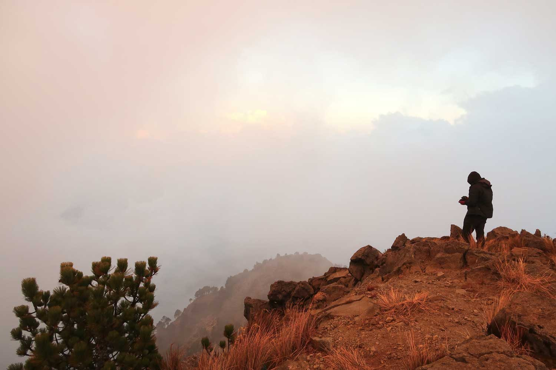 Vulkan Tajumulco - Höchster Punkt in Mittelamerika - Quetzaltrekkers