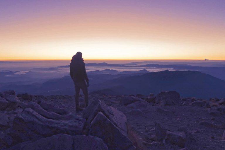 Vulkan Tajumulco - Höchster Punkt in Mittelamerika - Summit