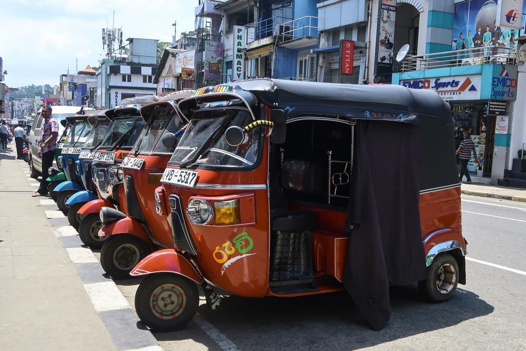 Fortbewegungsmittel in Sri Lanka