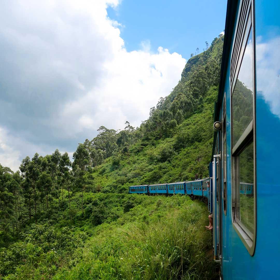 Sri Lanka Zugahren