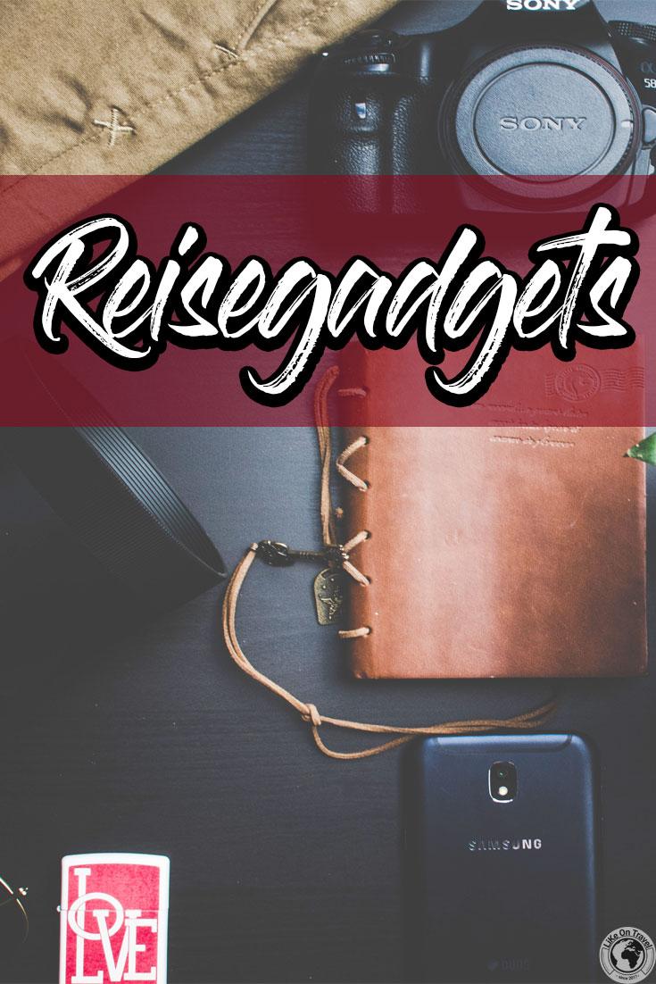 Reisegadgets, die du kennen & haben solltest! // Reisen // Gadgets // Travel Kit // Geschenkideen // Ausrüstung // Reiseblog // Empfehlungen