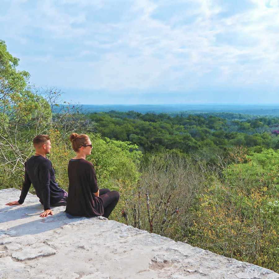 Bucket List - Blick über Tikal
