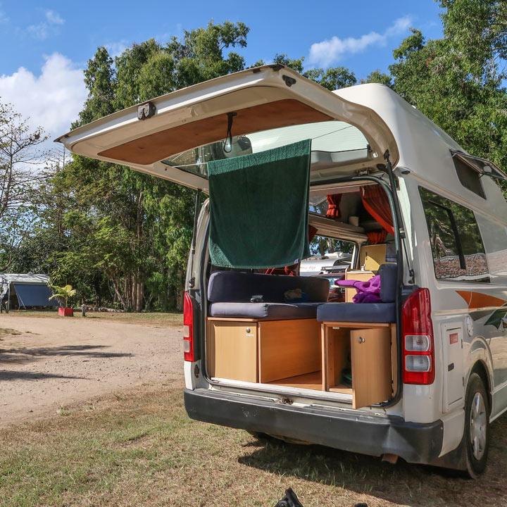 Hippie Camper in Australien