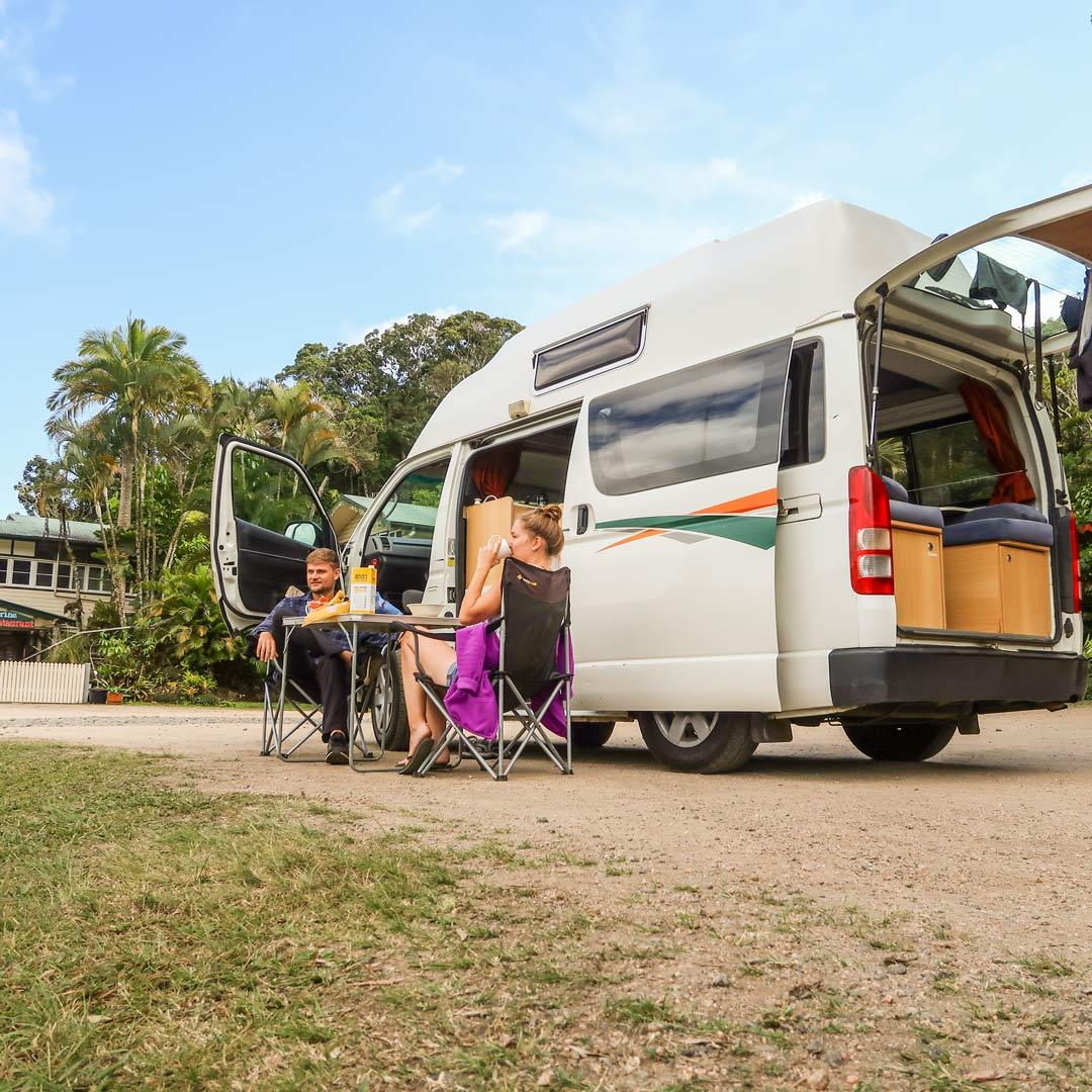 Camper Mieten Australien Hitop Hippie Drift van