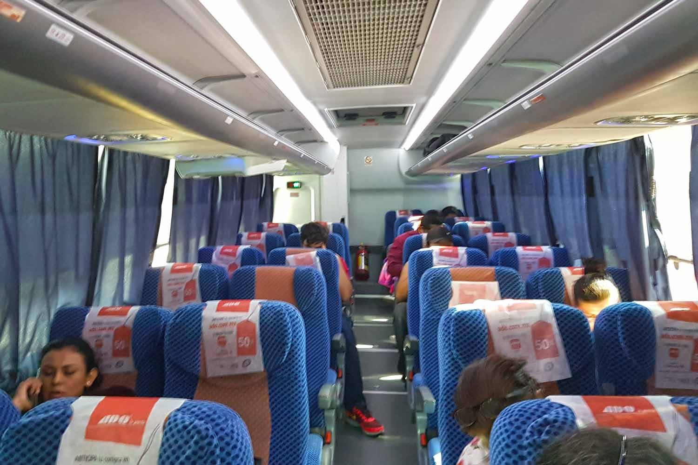 ADO Bus von Chetumal nach Playa del Carmen