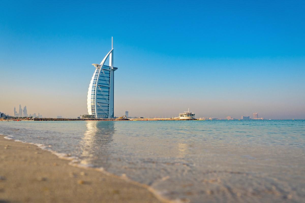 Dubai Rundreise - 5 gigantische Tage im Orient - Burj ab Arab