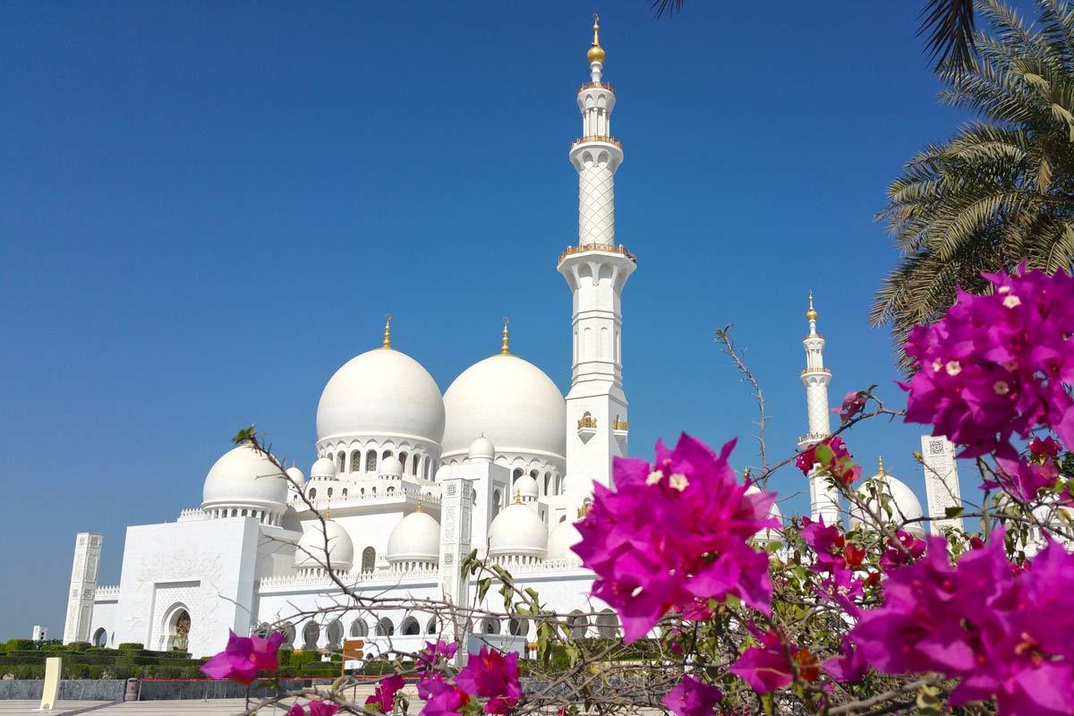 Dubai Rundreise - 5 gigantische Tage im Orient - Scheich-Zayid-Moschee