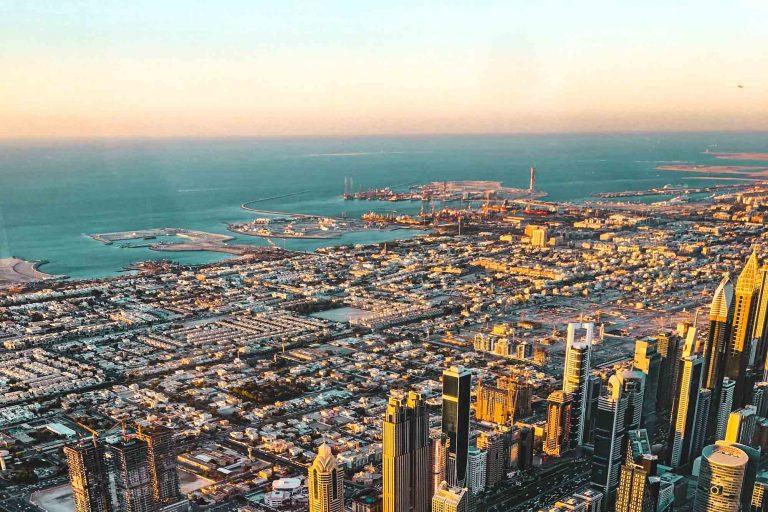 Dubai Rundreise - 5 gigantische Tage im Orient - Dubai von oben