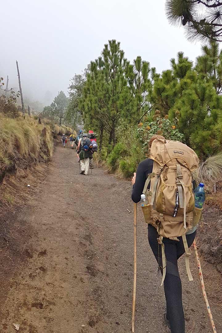 Guatemala Packliste - Was du in Mittelamerika brauchst - Acatenango