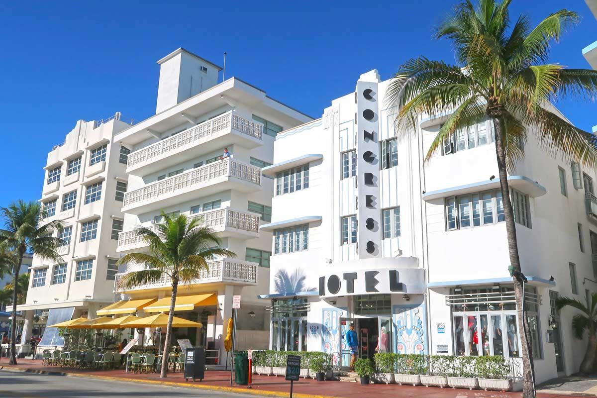 Miami Beach Sehenswürdigkeiten - 10 Dinge, die du machen solltest - Hotel am Ocean Drive