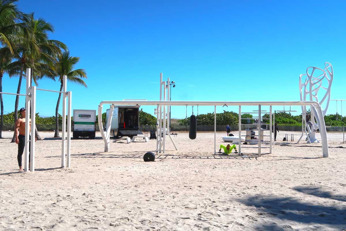 Miami Beach - Lummus Park Muscle Beach