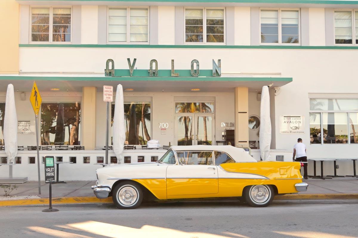 Ocean Drive Oldtimer