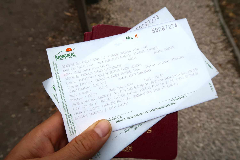 Tikal Guide - Die große Maya Stätte in Guatemala - Tickets