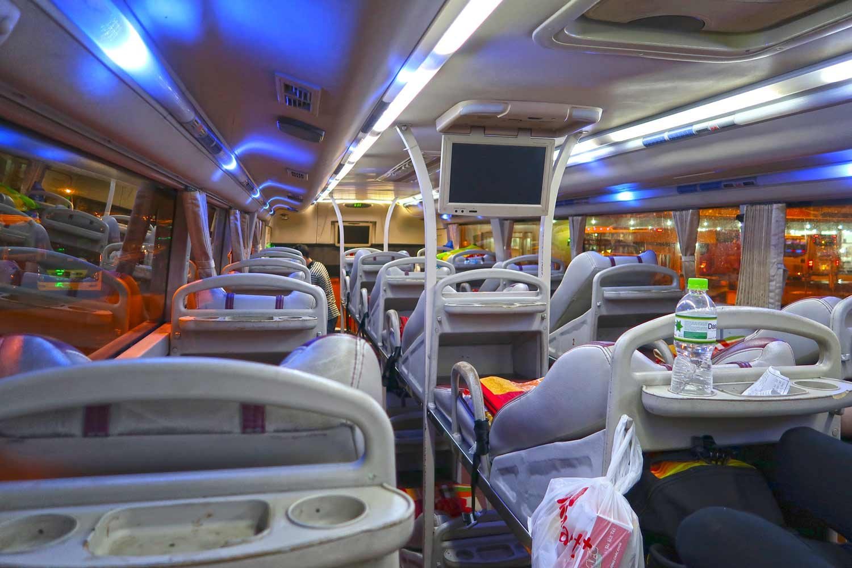 Nachtbusse in Vietnam