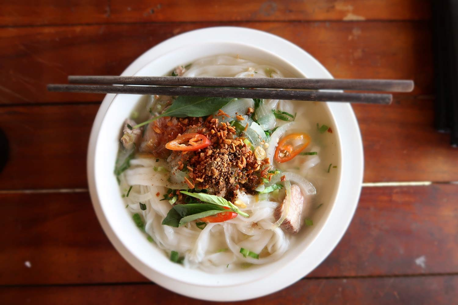 Pho Suppe in Vietnam