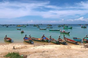 Vietnam Sehenswürdigkeiten - Die Top Spots für deine Reiseroute - Boote in Phu Quoc