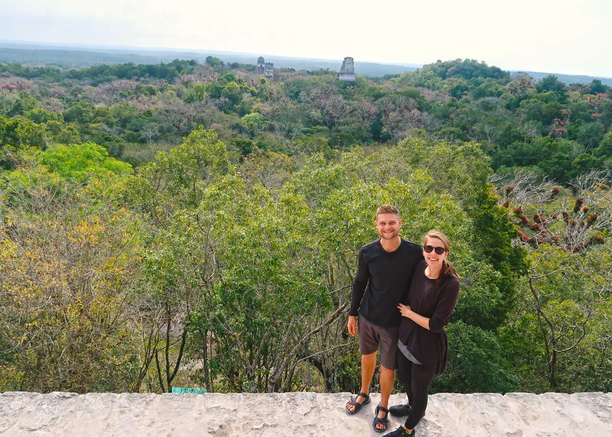 LikeOnTravel in Tikal
