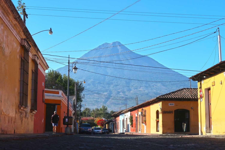 Guatemala Reisetipps - Vulkan Agua