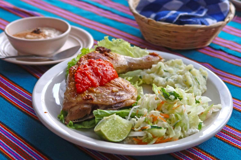 Guatemala Reistipps - Lunch in Antigua
