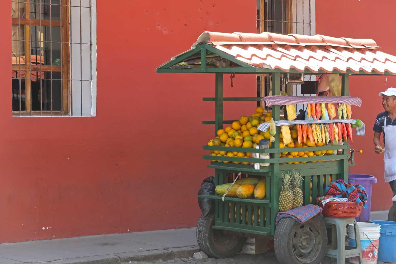 Guatemala Reisetipps Straßenstand