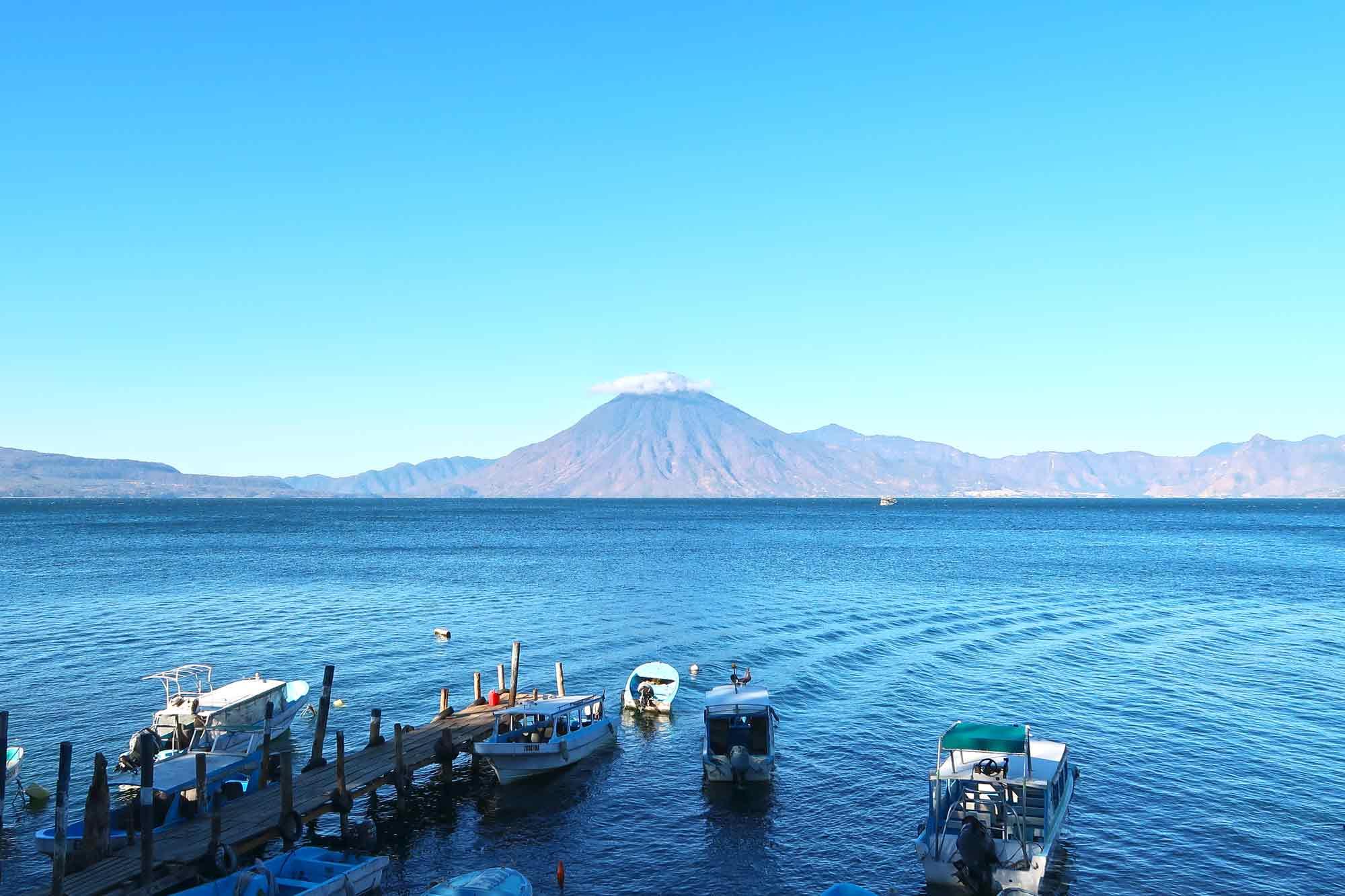 Guatemala Reisetipps - Vulkane am Lake Atitlan