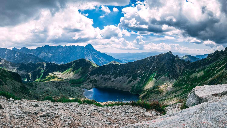 Tatra Gebirge in Polen