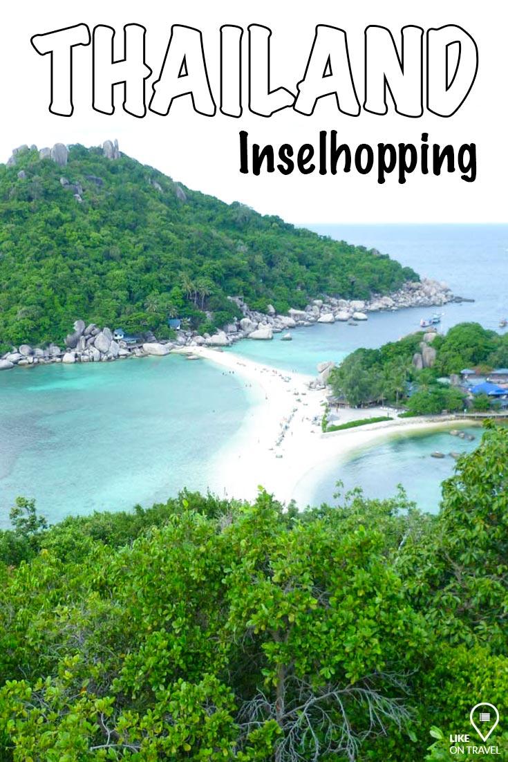 Inselhopping Thailand - Welche Insel passt zu dir? #Südostasien #thailand #rundreise #reisetipps #inseln #diebesteninseln #reiseblog #blog #likeontravel