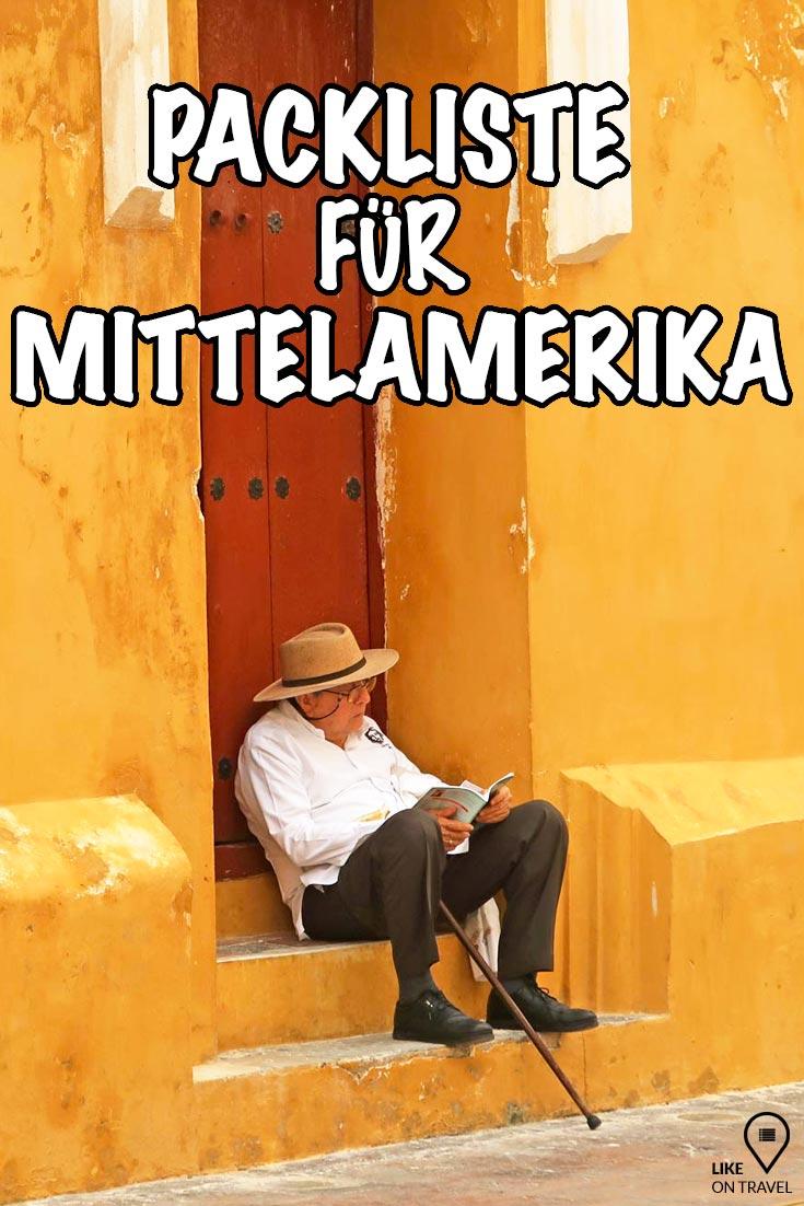 Packliste Mexiko & Co - die wichtigsten Dinge für Mittelamerika! #amerika #reisetipps #reisevorbereitung #mittelamerika #packliste #packlistezumdownload #packlistezumabhaken #reiseblog #blog #likeontravel