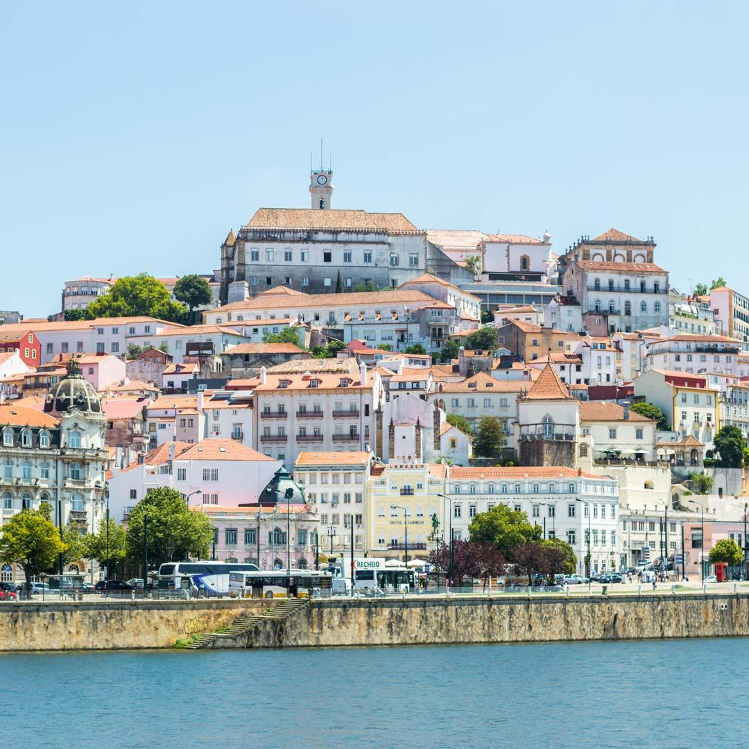 Coimbra, die ehemalige Hauptstadt von Portugal