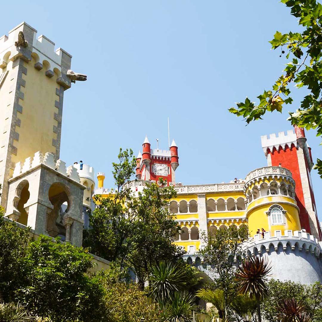 Sintra - Kunterbuntes Märchenschloss in Portugal