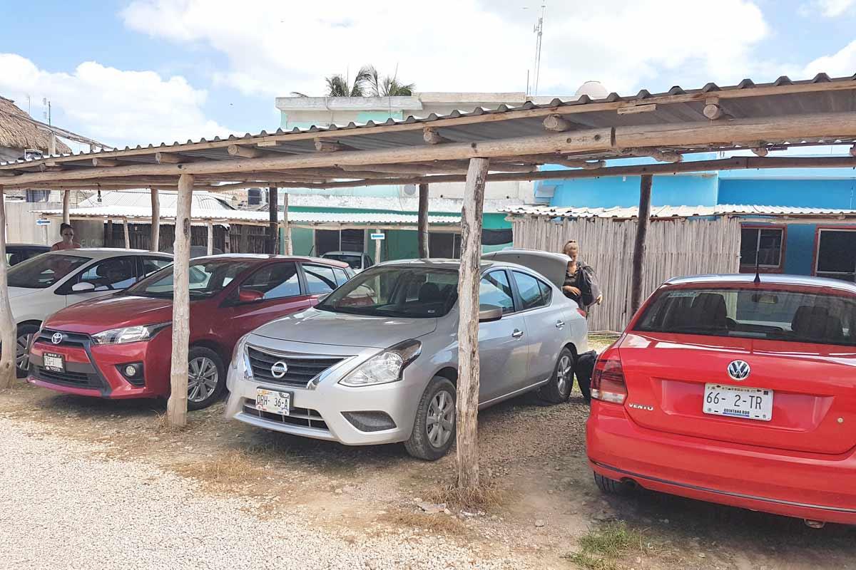 Parkplatz Chiquila