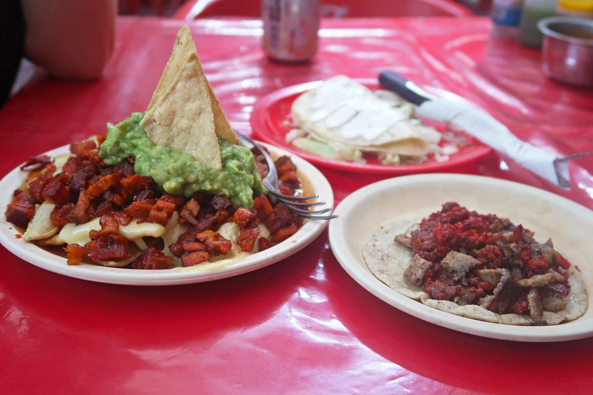Taco Queto mexikanisches Essen auf Holbox