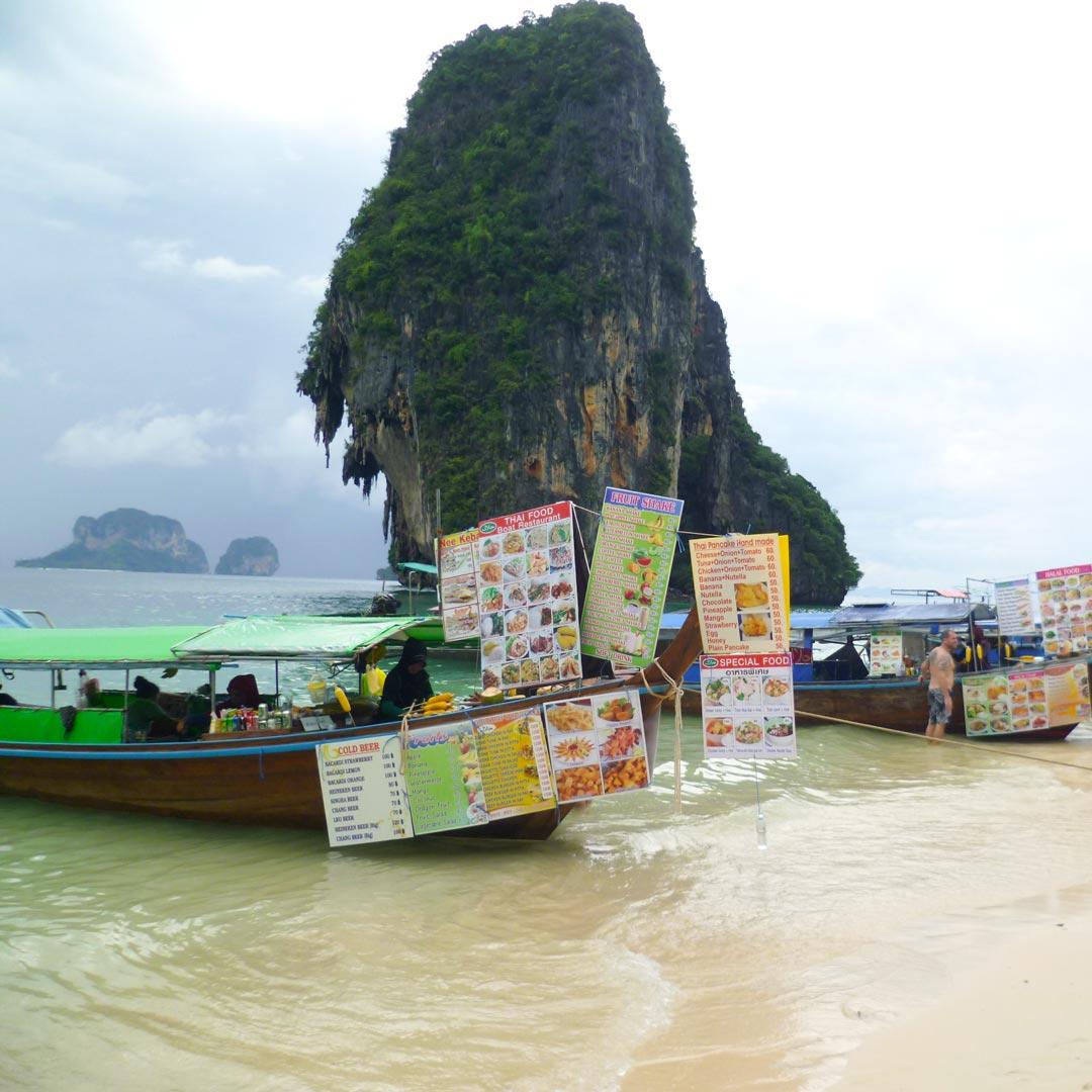 Viele Inseln in Thailand werden von Touristen regelrecht überrannt