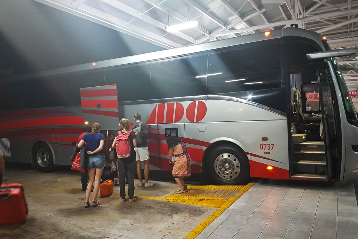 Ado Bus in Mexiko