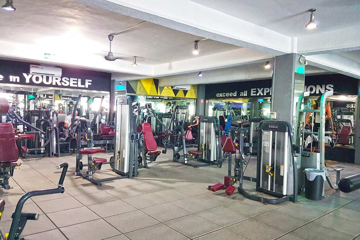 Evolve Gym in Playa del Carmen