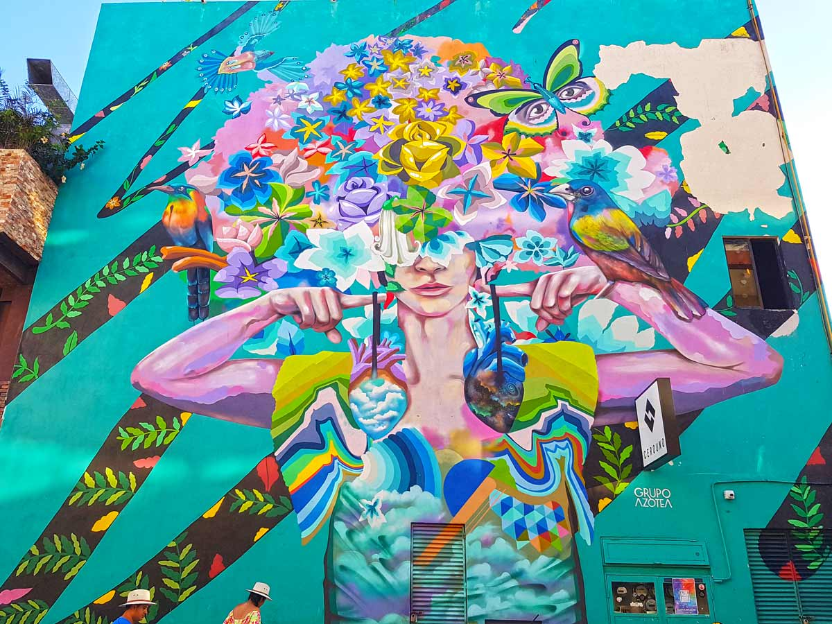 Streetart in Playa del Carmen