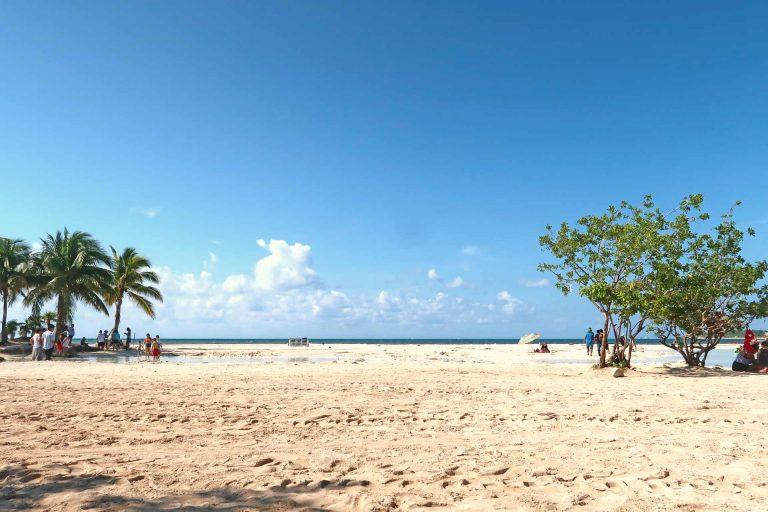 Strand von Punta Esmeralda in Playa del Carmen