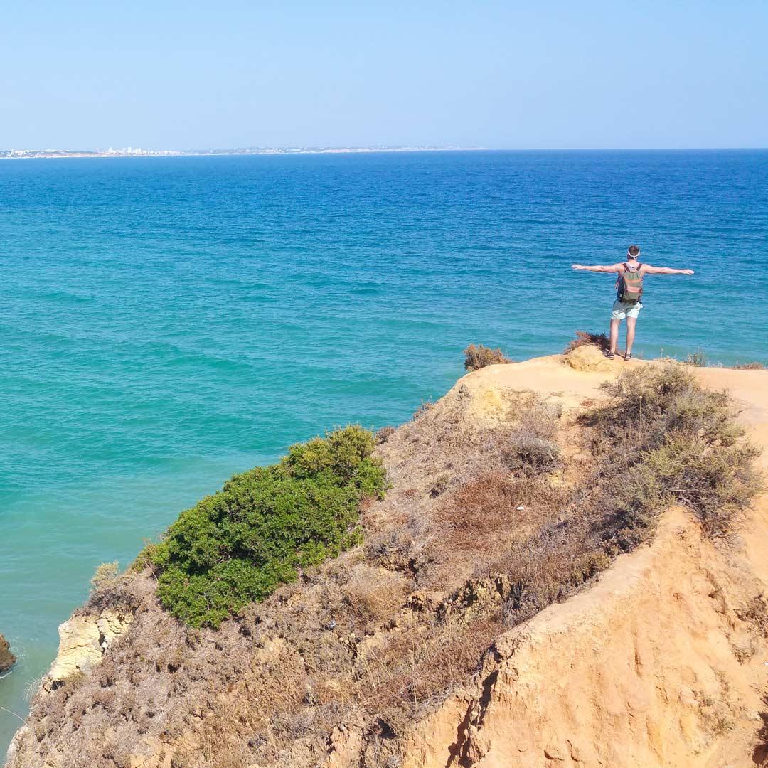 Geniale Landschaften an der Algarve in Portugal