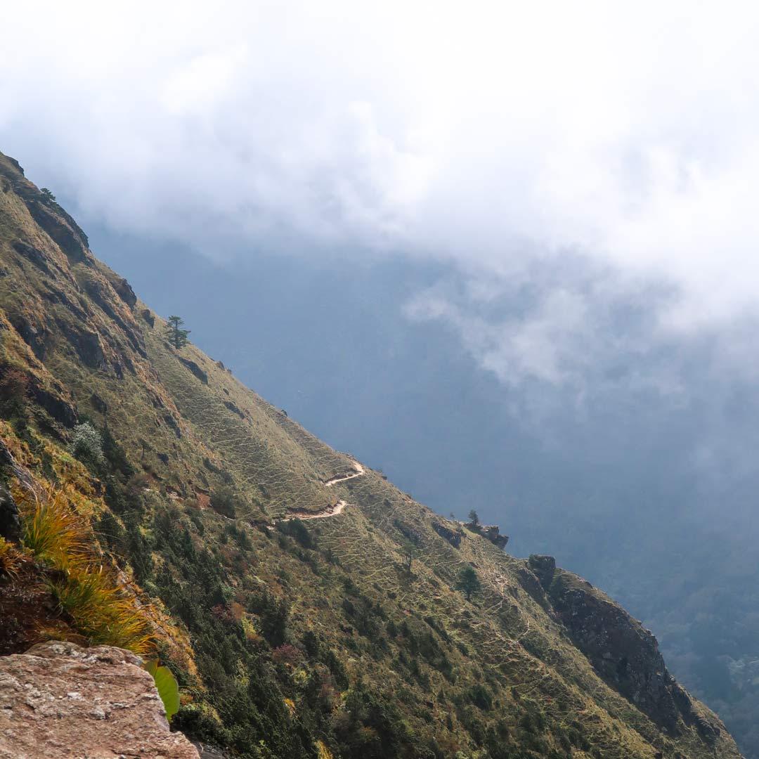 Wetter in Nepal beim Everest Base Camp Trek