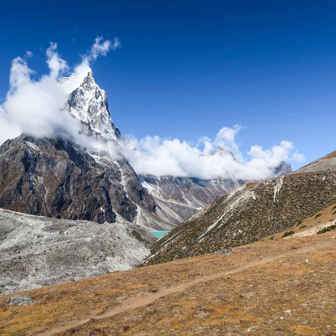 Nepal Himalaya gutes Wetter