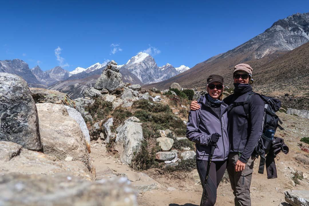 Sonnenschein im Himalaya