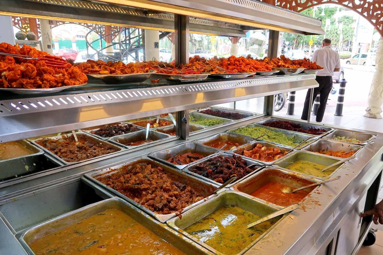 Nasi Kandar in Kuala Lumpur